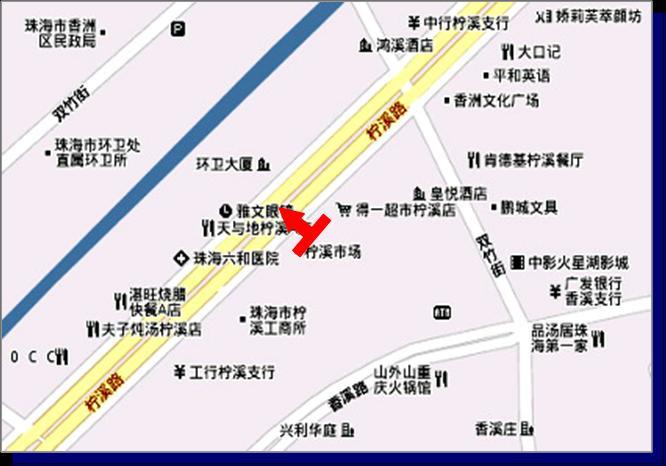 广东省珠海市香洲柠溪市场户外大屏