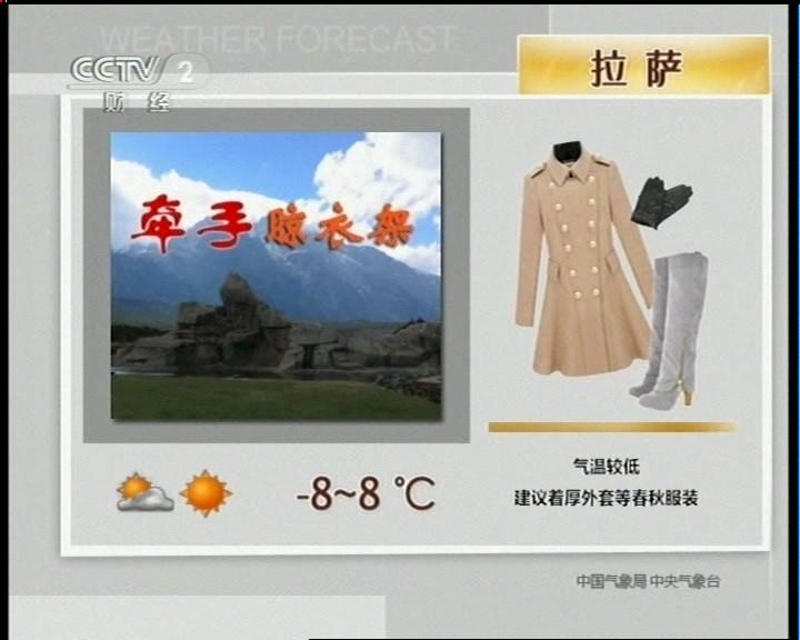 央视新闻频道天气预报广告 -户外频道图片